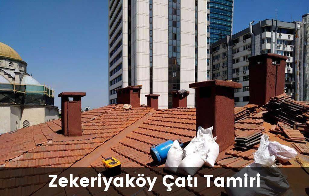 Zekeriyaköy çatı tamiri