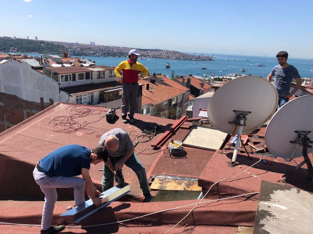 Çatı Tamiri Hizmetleri